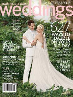 Martha Stewart Weddings //
