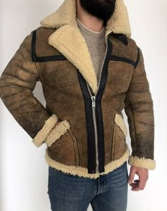 I've just restored my newest Shearling leather jacket. It turned out amazingly nice take a look