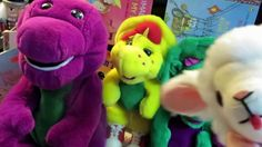Fun and Games with Interactive Barney, Baby Lamb and Friends