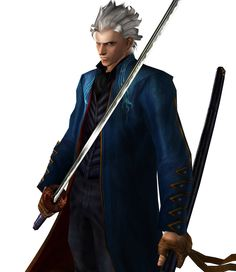 View an image titled 'Virgil Render' in our Devil May Cry Dante's Awakening art gallery featuring official character designs, concept art, and promo pictures. Ragnar Lothbrok Vikings, Vergil Dmc, The Devil Inside, Dante Devil May Cry, Marvel Vs, Crying, Demons, Dragon Ball, Omega