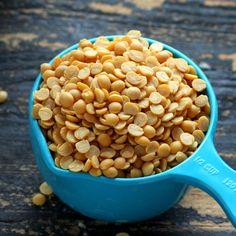 Ethiopian Kik Alicha - Split Pea stew is a simple warm stew with just 6 ingredients   VeganRicha.com #vegan #ethiopian #soup