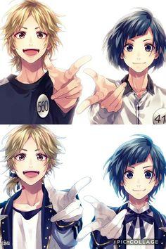 Vocaloid, Anime Love, Anime Guys, Zutto Mae Kara, Honey Works, Matching Profile Pictures, Cute Comics, Ensemble Stars, Romance