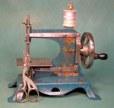 Casige antique toy sewing machine German