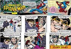 Spiderman newspaper strip