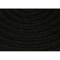 Andover Mills Rainsburg Black Indoor/Outdoor Area Rug Rug Size: Oval 8' x 11'