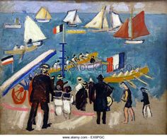 The Regatta by Raoul Dufy Handmade oil painting reproduction on canvas for sale,We can offer Framed art,Wall Art,Gallery Wrap and Stretched Canvas,Choose from multiple sizes and frames at discount price. Georges Braque, Matisse, Maurice De Vlaminck, Raoul Dufy, Art Deco, Paris Ville, Oil Painting Reproductions, Art Moderne, French Artists