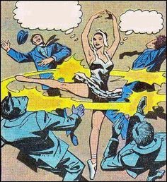 Comic Girls Ballet Fu #comic #vintage