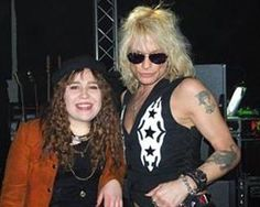 Michael and Riikka from The Voice Of Finland at Finlandia Klubi 2016! #MichaelMonroe #Legend #Icon #HanoiRocks