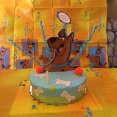 Scobby doo cake!!!
