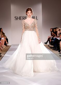 by Sherri Hill Fall 2015 Collection - Mercedes-Benz Fashion Week Fall 2015 at The Plaza on February 19, 2015 in New York City.