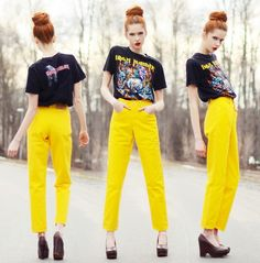 Secondhand Tshirt, Secondhand Jeans, Shoes Ebba Z
