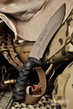 Elite Debuts Limited Edition Custom Knife On Veterans Day - The Kraden Tactical Fixed Knife Blade