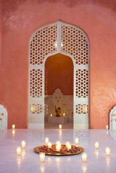 hotel sahara palace marrakech, design by orientalist stuart church