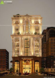 Thiết kế khách sạn 3 sao kiểu Pháp được thể hiện tại bờ biển Hải Tiến cuốn hút. Kiến trúc Pháp đặc trưng được trưng diện trên tòa khách sạn đẹp đến ngỡ ngàng.