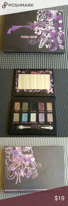 Urban Decay Ammo Shadow Box Comes with 10 different colors; only used a couple times.  Never been used applicator. Urban Decay Makeup Eyeshadow