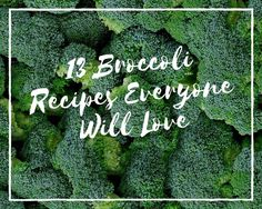 Getting the family to eat their green veggies can be a challenge...well not with these delicious, homemade broccoli recipes. Some are cheesy, some are crunchy - but all are sure...