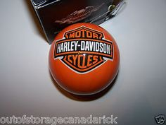 Harley Davidson Christmas Bulb Ornaments Collectible 3 Total 2011 | eBay