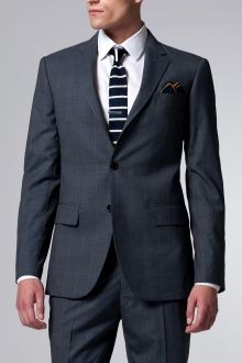 Blue Prince of Wales Suit