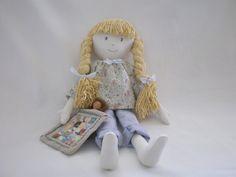 My latest cloth doll!