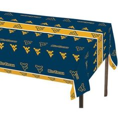 West Virginia Mountaineers Table Cover, Assorted