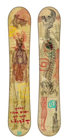 Anatomy snowboards!