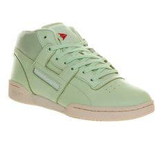 Reebok Workout Mid Sea Glass - Hers trainers