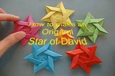 How to Make an Origami Jewish Star | The Jewish Press - JewishPress.com | Video of the Day | 8 Tevet 5777 – January 5, 2017 | JewishPress.com