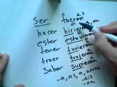 Professor Jason Quick Video: Past/Imperfect Subjunctive in Spanish (+lis...