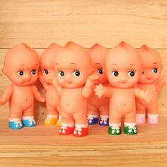 Image of Kewpies with colour shoes