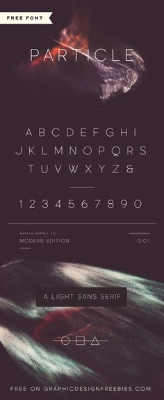 Particle - Exclusive Freebie — Graphic Design Freebies