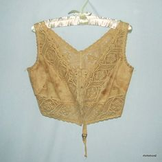 1910's brassiere from http://mmmost.wordpress.com/2011/09/14/look-at-this-brassiere-that-edwardian-women-wore-in-the-1910s/