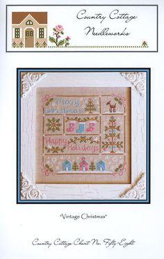 Vintage Christmas Chart | sewandso