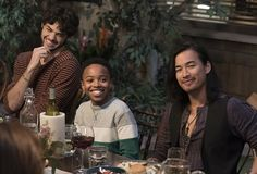"""Meet the Fosters"" - Emma, Jesus, Corey and Mat Adam Foster, Foster Family, Meet The Fosters, Jordan Rodrigues, Make A Family, Episode 5, Teen Wolf, Favorite Tv Shows, It Cast"