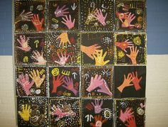 Aboriginal art from Australia for grade two social studies-to go with multicultural folktales Aboriginal Education, Aboriginal Culture, Art Education, Classroom Art Projects, School Art Projects, Art Classroom, Aboriginal Dot Painting, Jr Art, New Year's Crafts