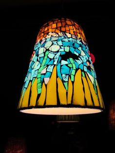 Stained Glass Chandelier, Lighting, Home Decor, Mosaics, Ceiling Lamps, Ceiling Lights, Decoration Home, Room Decor, Lights