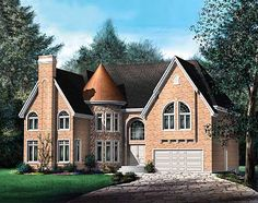 - 80444PM | European, Canadian, Luxury, Metric, 2nd Floor Master Suite, CAD Available, Den-Office-Library-Study, MBR Sitting Area, PDF | Architectural Designs