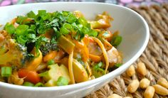 Peanut Satay Dragon Bowl