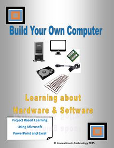 """This lesson teaches the basics of computer hardware and software while letting students explore what's inside the computer!    Start with a PowerPoint presentation to the class, then students create a PowerPoint to reinforce their knowledge of computer parts. Next, they'll use Excel in a project to research and """"build"""" from scratch two computers of their own."""