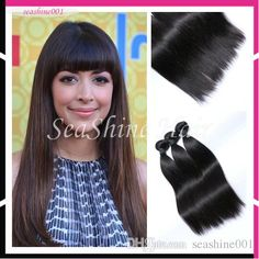 brazilian virgin hair straight 100% unprocessed human hair weaves 3pcs lot natural black bundles malaysian straight human hair extensions from seashine001 can help your hairs look thicker. brazilian curly hair weave are made of human hairs. Using brazilian hair weave wholesale and brazilian weave can make you feel more confident.