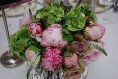 Someone's bridal bouquet