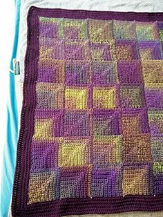 Ravelry: Crochet Mitre Square Blanket pattern by Mother bunch