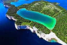 """Check out this amazing beach on Dugi Otok (""""Long Island"""") in Croatia Croatia Island Hopping, Places To Travel, Places To See, Croatian Islands, Paradise On Earth, Photos Voyages, Croatia Travel, Landscape Pictures, Over The Rainbow"""