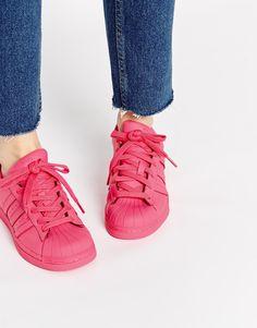 Adidas Originals Pharrell Williams Supercolour Semi Solar Pink Trainers