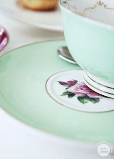Mint tea cup