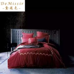 Find More Bedding Sets Information about Luxury 60S Egyptian Cotton King Queen Bedding Set 4 PCS Duvet Cover Sheet 2Pillow Case Royal Blue Embroidery Textile bedding,High Quality bedding and bath sets,China textile chain Suppliers, Cheap bedding for day beds from Top Qulity Human Hair Factory on Aliexpress.com