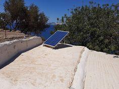 Αυτονομο Φωτοβολταϊκο συστιμα 2.5ΚW στην Νισυρο από την P & G Energy Kos