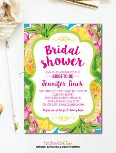 41 best bridal shower invitations images on pinterest in 2018 tropical bridal shower invitation pineapple bridal shower hawaiian luau bridal shower summer printable filmwisefo
