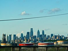 Philadelphia from the Platt Bridge June 2014