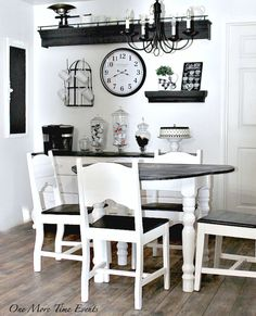 27 Best Black Kitchen Table Images Dining Room Dining Room Sets