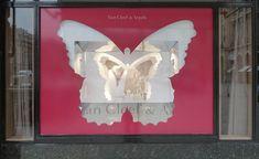 Van Cleef & Arpels poetic windows, Paris visual merchandising